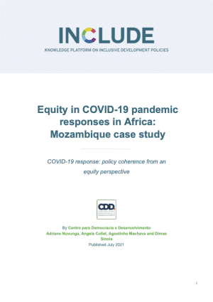 Mozambique Country Case Study cover